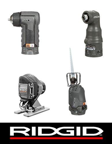 Ridgid Jobmax 4 Head Kit - Jig Saw Reciprocating Saw Impact Driver Drill R8223407 R8223412 R8223401 R8223402