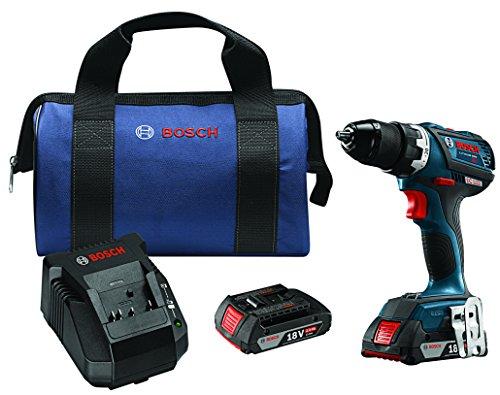 Bosch DDS183-02 18V EC Brushless Compact Tough 12 DrillDriver Kit
