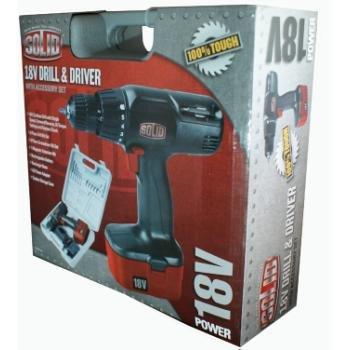 Solid 18V Drill Driver