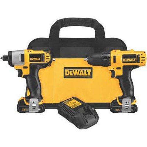 DEWALT DCK211S2 12-Volt Max DrillDriver  Impact Driver Combo Kit