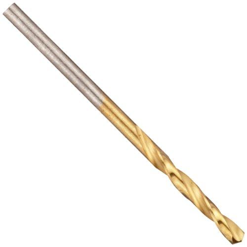 Chicago Latrobe 2559 Cobalt Steel Short Length Drill Bit TiN Coated Round Shank 135 Degree Split Point 532 Size Pack Of 12