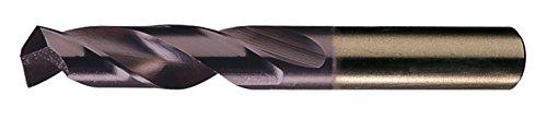 Chicago Latrobe 559TA Series Cobalt Steel Short Length Drill Bit TiAlN Coated Round Shank 135 Degree Split Point 1564 Size  Pack of 12