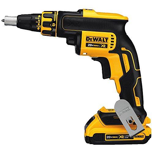 DEWALT 20V MAX XR Drywall Screw Gun Kit Brushless DCF620D2