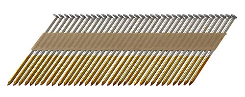 Metabo HPT 15242HPT Hot Dipped Galvanized Off Set Head Paper Tape Framing Nails 3-14 x 131 SM  2500 Count