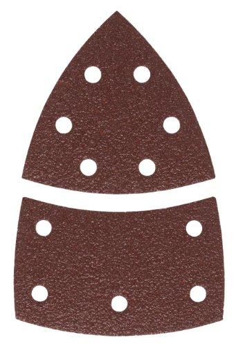 Bosch 2609256A63 10-Piece Sanding Sheet Set for Multi-Sanders 102 x 6293 80