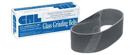CRL 3 x 21 400X Grit Glass Grinding Belts for Portable Sanders - 10 Per Box - CRL3X21400X