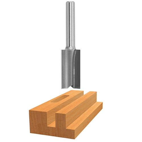 Bosch 85226M 716 In x 1 In Carbide Tipped 2-Flute Straight Bit