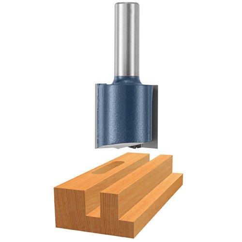 Bosch 85469M 1-12 In x 1-14 In Carbide Tipped 2-Flute Straight Bit