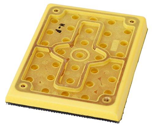 Clayton 675-402J 3x4-Inch Multi-Hole Backup Pad for Jitterbug and Orbital Vacuum Sanders
