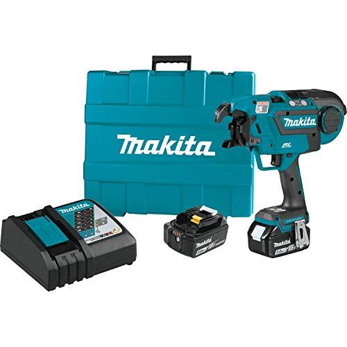 Makita XRT01TK 18V LXT Lithium-Ion Brushless Cordless Rebar Tying Tool Kit 50Ah