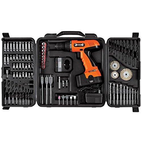Trademark Poker Trademark ToolsT 18V Cordless Drill Set 89 pcs RMG4H4E54 E4R46T32594966