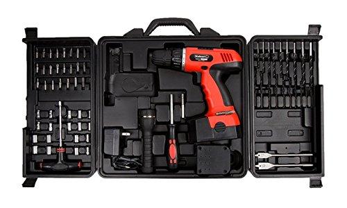 Trademark Tools 75-66007 Hawk 78-Pc 18 Volt Cordless Drill Set by Trademark Tools