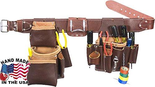 Occidental Leather 5036m Medium Leather Pro Electrician`s Tool Belt Set