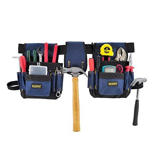 FASITE 32-POCKET Electrical Maintenance Tool Pouch Bag Technicians Tool Holder Work Organizer Framers Tool Belt