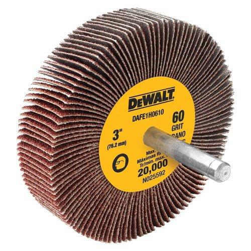DEWALT DAFE1H1210 3-Inch by 1-Inch by 14-Inch HP 120g Flap Wheel