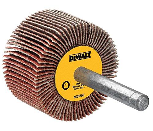 DEWALT DAFE1H2410 3-Inch by 1-Inch by 14-Inch HP 240g Flap Wheel