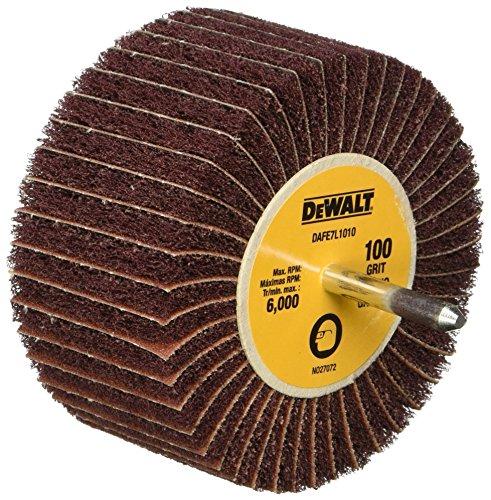 DEWALT DAFE7L1010 4-Inch by 1 34-Inch by 14-Inch 100g Finshing Flap Wheel