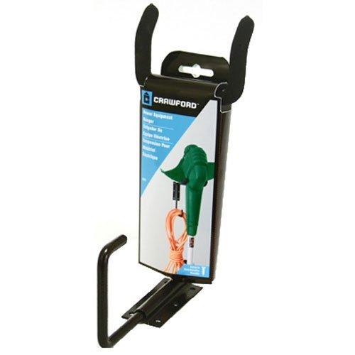 Crawford CMPE-6 Medium Duty Garden Power Tool Hanger Black