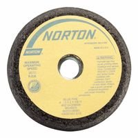 Norton 547-66253198586 Bluefire Snagging Cup Wheel 6 in Dia 2 in Thickness 16 Grit