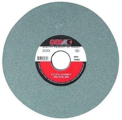 CGW Abrasives Green Silicon Carbide Surface Grinding Wheels 421-34655