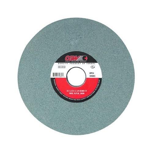 Green Silicon Carbide Surface Grinding Wheels - 7x14x1-14 t1 gc80-i-vgreen silicon carbide su