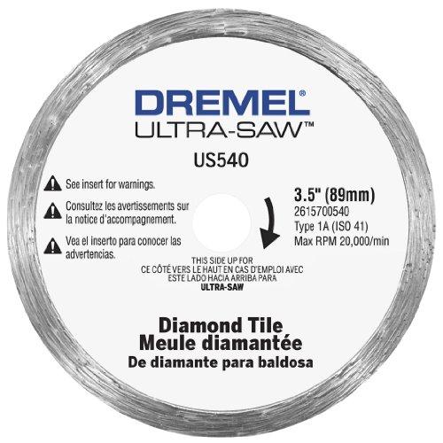 Dremel US540-01 Ultra-Saw 35-Inch Tile Diamond Blade