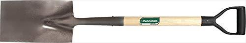 Union Tools 46173 9 in Garden Spade with Hardwood D-Grip Handle