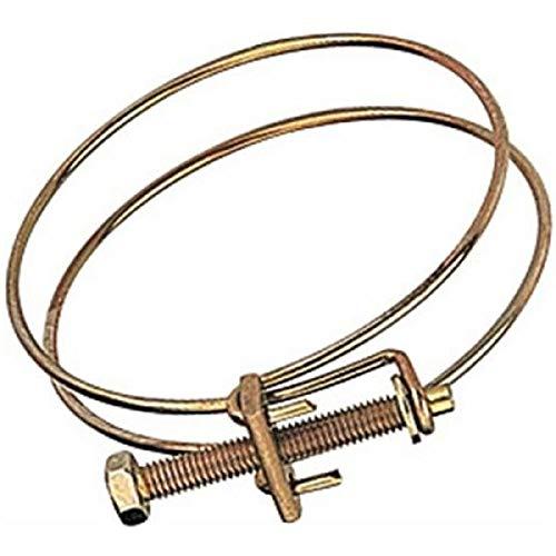LARGE DIAMETER STEEL WIRE HOSE CLAMP FOR DUST COLLECTOR COLLECTING HOSE 6Jikkolumlukka
