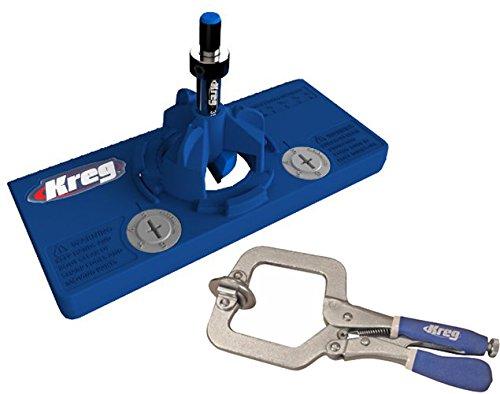 Kreg Concealed Hinge Jig Face Clamp