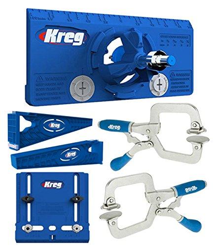 Kreg Drawer Slide Mounting Tool Cabinet Hardware Jig Hinge Jig 2 Face Clamps