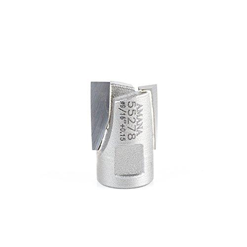 Amana Tool 55278 Carbide Tipped Mortising Screw Cutter 916  0015 Dia x 916 Inch Cut Height x 14 - 28 Thread