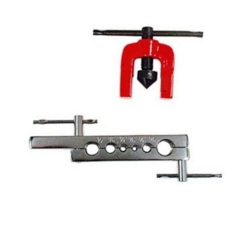 Generic NV_1008001760_YC-US2 DiesTub Pipe Tool Set ring 2 PC Brake Line Tool 316 14 516 16 1 Tubing Flaring 16 3 38 12 58 Dies 2 PC Br