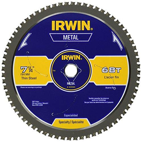 IRWIN Metal-Cutting Circular Saw Blade 7-14 68T 4935560