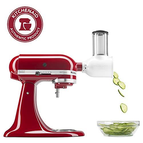 KitchenAid KSMVSA Fresh Prep SlicerShredder Attachment White