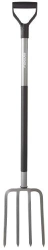 Fiskars 47 Inch Steel D-Handle Ergo Garden Fork