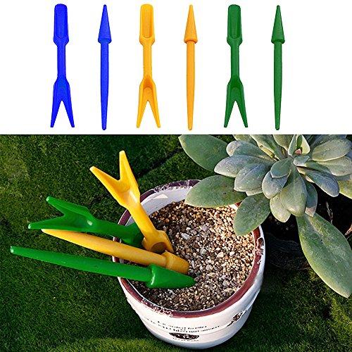 Mini Planting Digging Tools Plastic Hole Puncher Dig Seedlings Tools 2pcs Garden Seeding Tools -Pier 27
