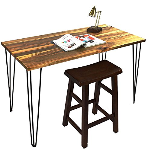 Signstek 28 Hairpin Table Legs with Heavy Duty Metal and Industrial Design for Coffee Tables Modern Desks and Night StandsSet of 4