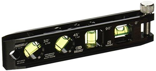 Johnson Level Tool 1411-0600 Billet Torpedo Level 6-Inch