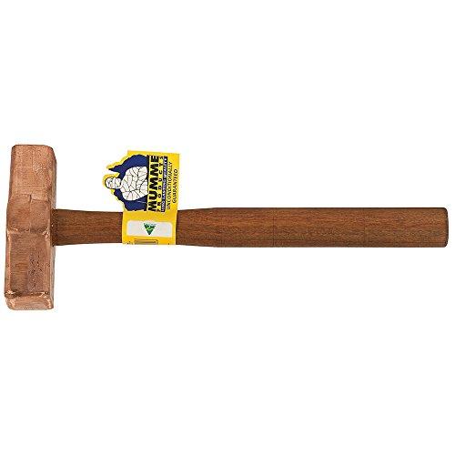 Klein Tools 7HCH07 Copper Hammer Wooden Handle 7-Pound