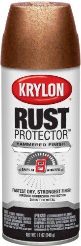Krylon K06931900 Rust Protector Hammered Paint Copper Hammer