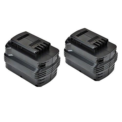 2 Pack Masione 20AH 24V 24-Volt Battery for DEWALT DW0240 DW0242 DE0240 DE0241 DE0243 DW006K Cordless Hammer Drill
