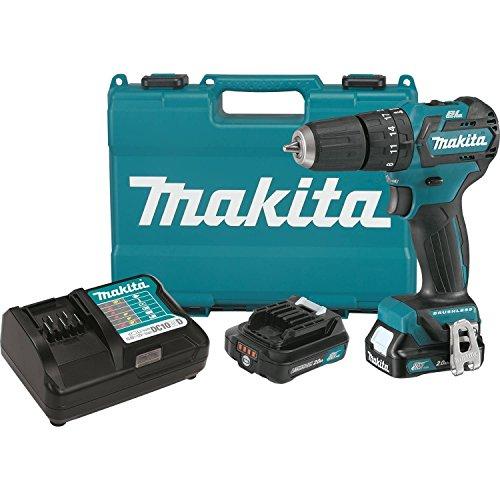 Makita PH05R1 12V MAX CXT Lithium-Ion Brushless Cordless Hammer Driver-Drill Kit 38