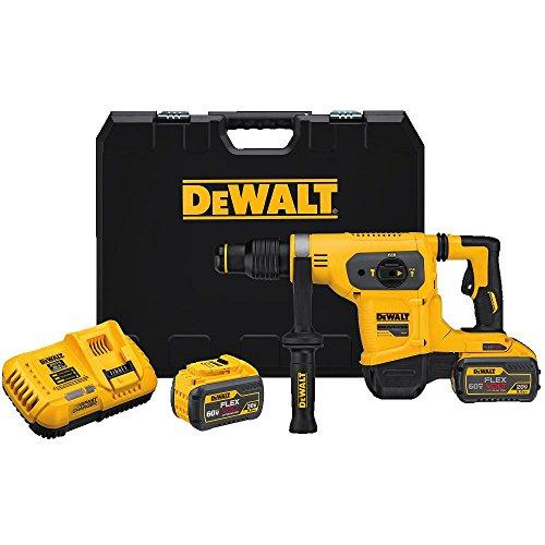DEWALT FLEXVOLT 60V MAX Rotary HammerDrill Combination Kit 1-916-Inch DCH481X2
