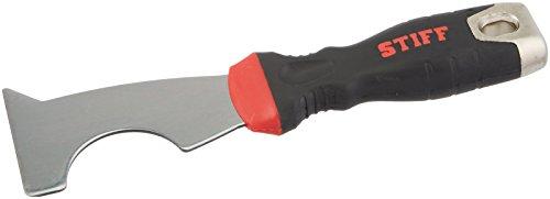 Warner 90199 ProGrip 6-in-1 Glazier Knife with Hammer Cap