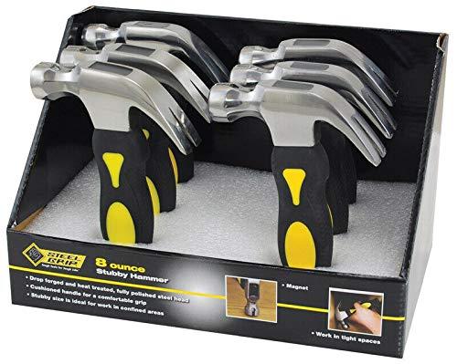 Stubby Hammer 8Oz Sg Pack Of 6 - BR86105