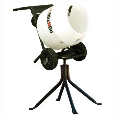 Multiquip MC3PEA Concrete Mixer Mix-N-Go Poly Drum 115V 3cf Drum Capacity
