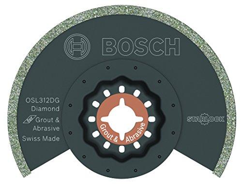 Bosch OSL312DG Starlock Oscillating Multi Tool Diamond Grit Grout Blade 3-12