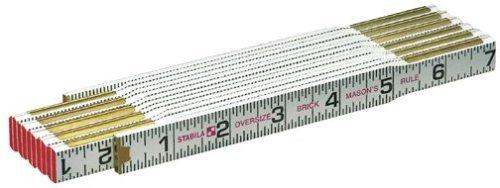 Stabila 80005 Folding Ruler - Oversize Scale