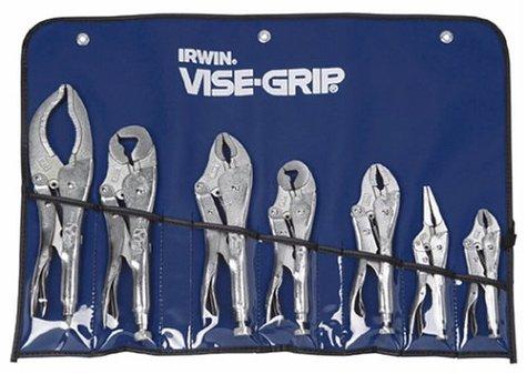 IRWIN Tools VISE-GRIP Locking Pliers Original 7-Piece Set with Kit bag 757KB