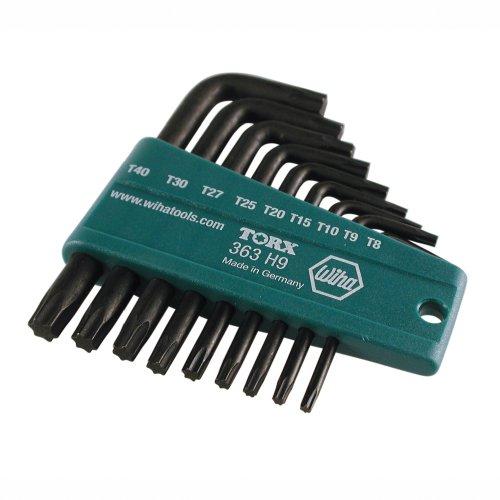 Wiha 36394 9-Piece Torx L-Key Set
